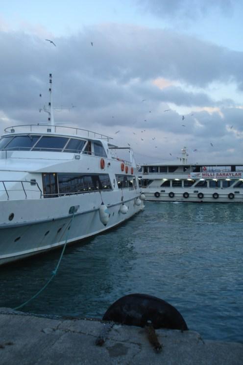 Trajekt stanica Kabataş - Fary Boat station, Kabataş