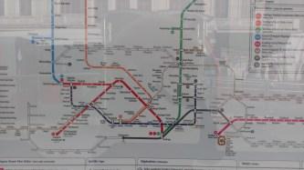 Metro mapa grada