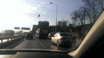 Zidine grada, ulaz u stari grad