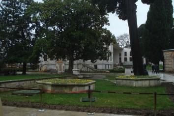 Topkapi palata, drugo dvorište - Topkapi Palace, Other garden