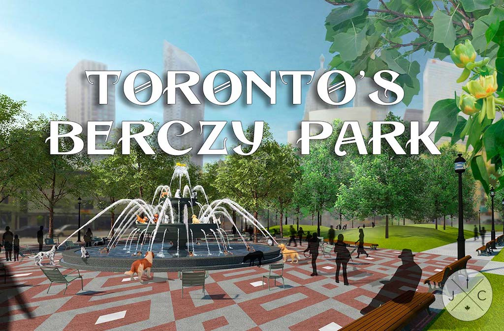 Toronto's Newest Dog Park – Berczy Park