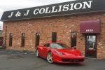 jandj collision service shopfront