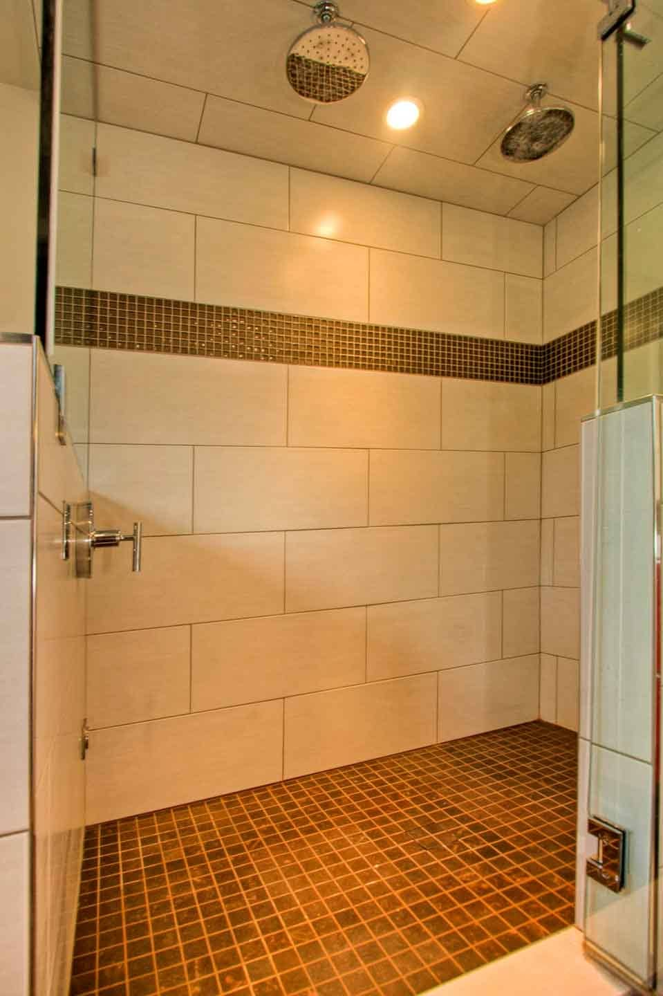 Bathroom With Steam Shower In West Seattle
