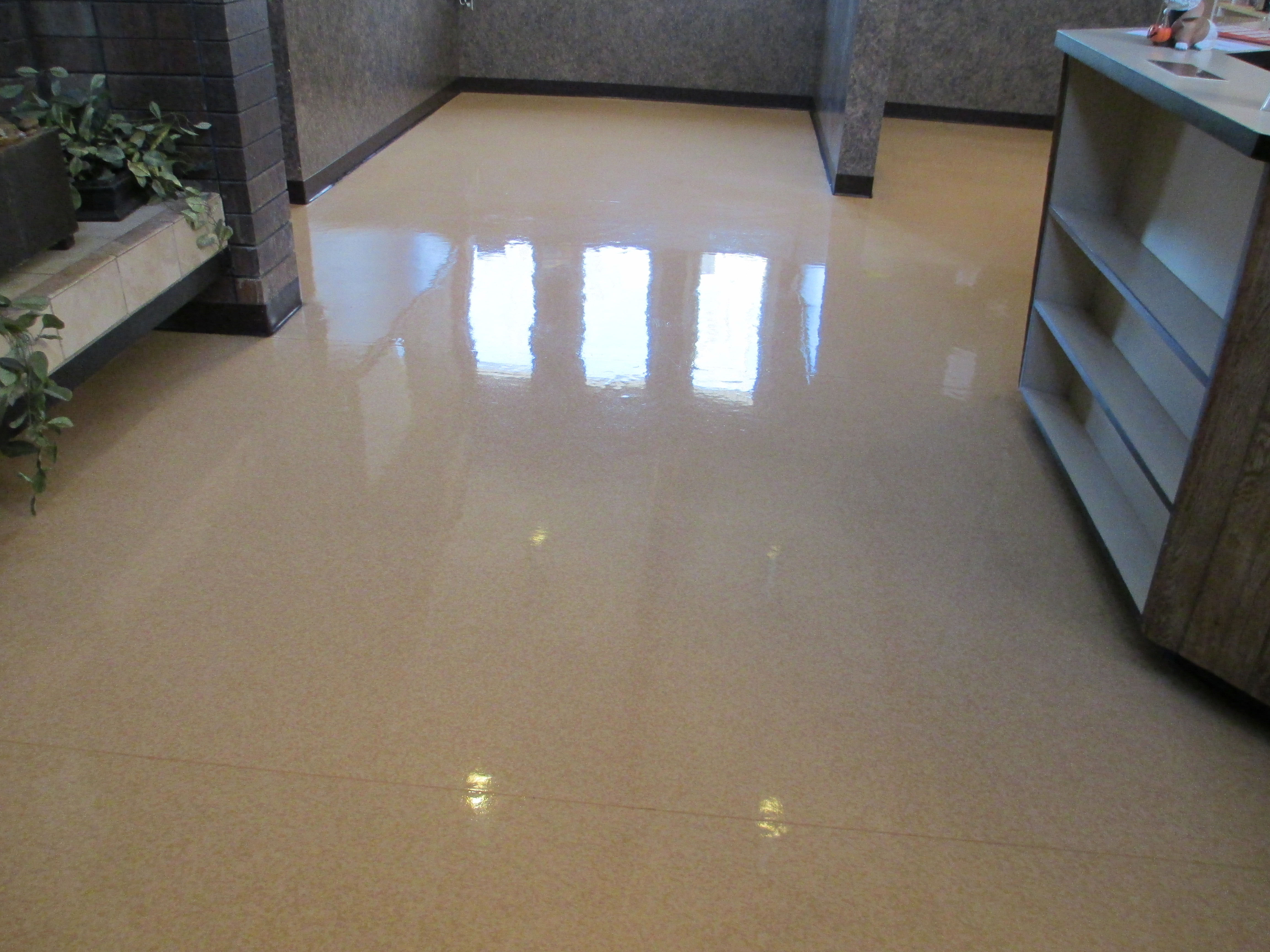 strip and wax tile floors j and s janitorial serivcesj and s janitorial services