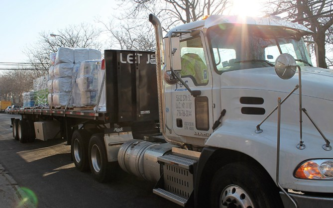 J & S Supply Tractor Trailer
