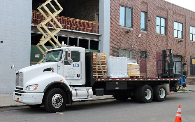 J & S Supply Delivery Truck