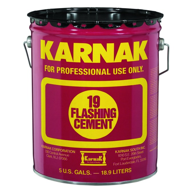 Karnak Flashing Cement and Ultra Rubberized Flashing Cement