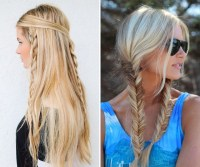 Braided Hippie Hairstyles