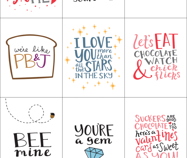 Printable Valentines Day Cards From Jane Com