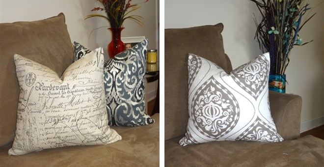Pillows Size 18x18