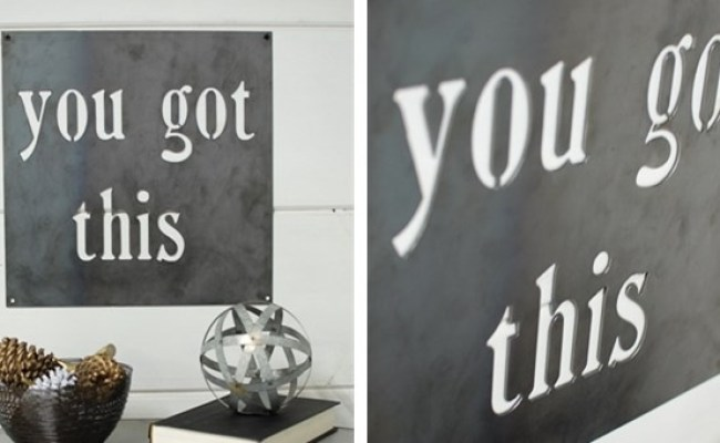You Got This Metal Wall Sign Decor Jane