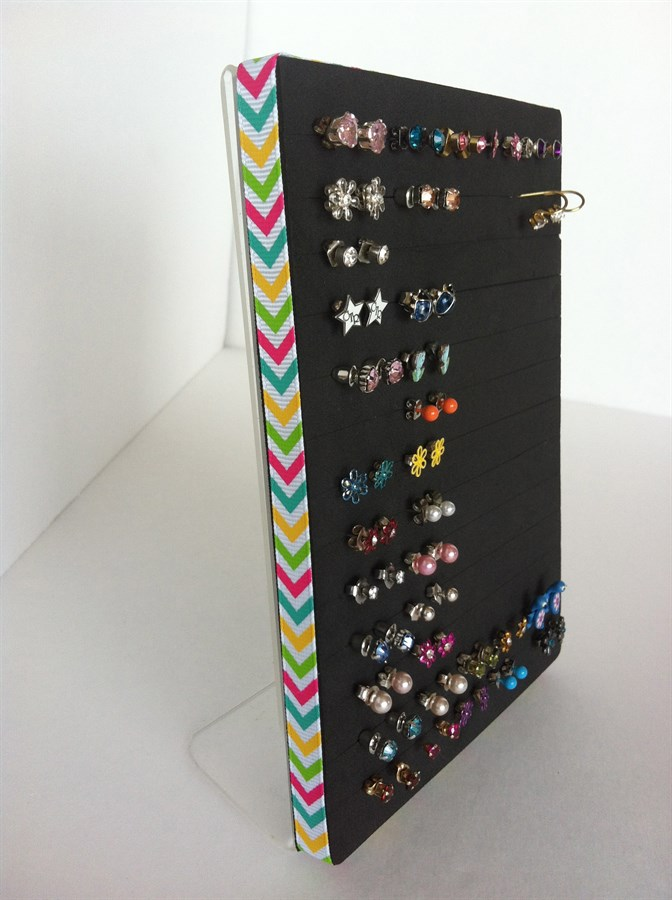 It's Back! Post Earring Holder  Jewelry Organizer