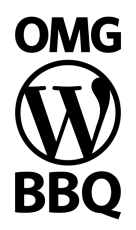 OMG WordPress BBQ logo