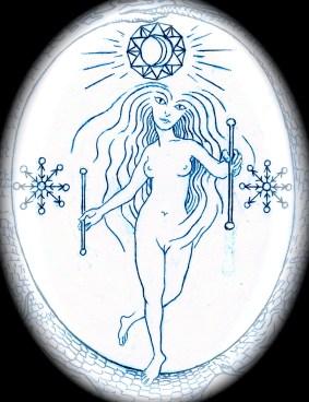 Tarot Arcanum 22 - The World (Yesod Malkuth path - Moon/Earth: the root)