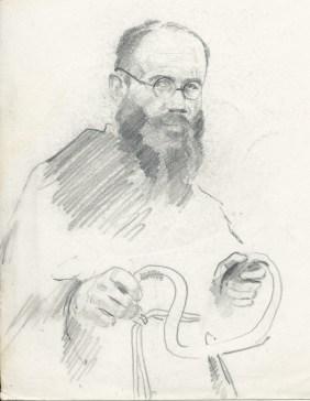 Saint on bike - Maximilian Kolbe