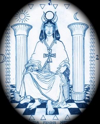 priestess - masked