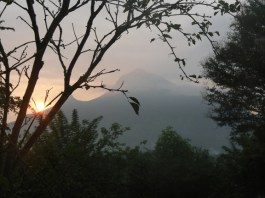 Arunachala vu from house