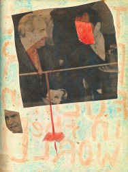 31 liverpool sketches 6, 1969, nixon & LBJ