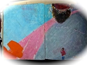 38 liverpool sketches 6, 1969, journeys