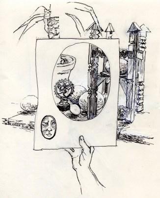 Cosmic Egg - Douglas Harding experiment