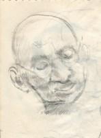 142 pestalozzi sketches - gandhi