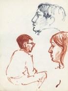 181 pestalozzi sketches - indians & debbie