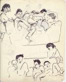 200 pestalozzi sketches - tibetan children