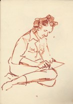 268 Pestalozzi sketches - marie claude