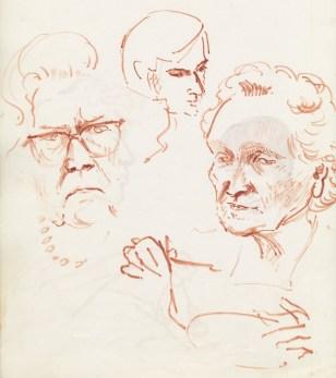 329 Pestalozzi sketches - lunch