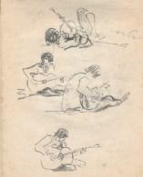 95 pestalozz sketches - guitarist on beach