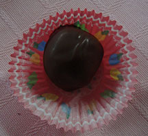 Picture of chocolate peanut butter balls