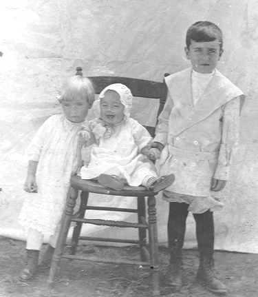 Greta, Sid, and Carl when they were young