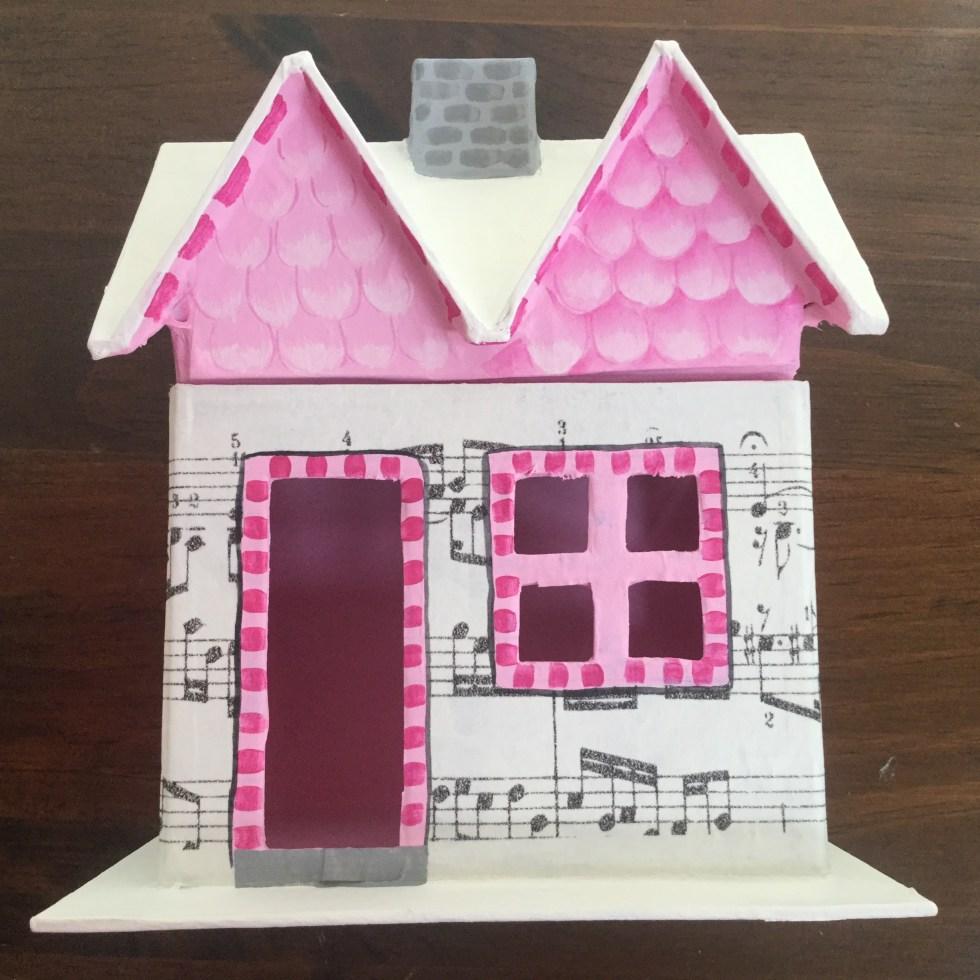 Music Glitter House – Jane Allen Creates