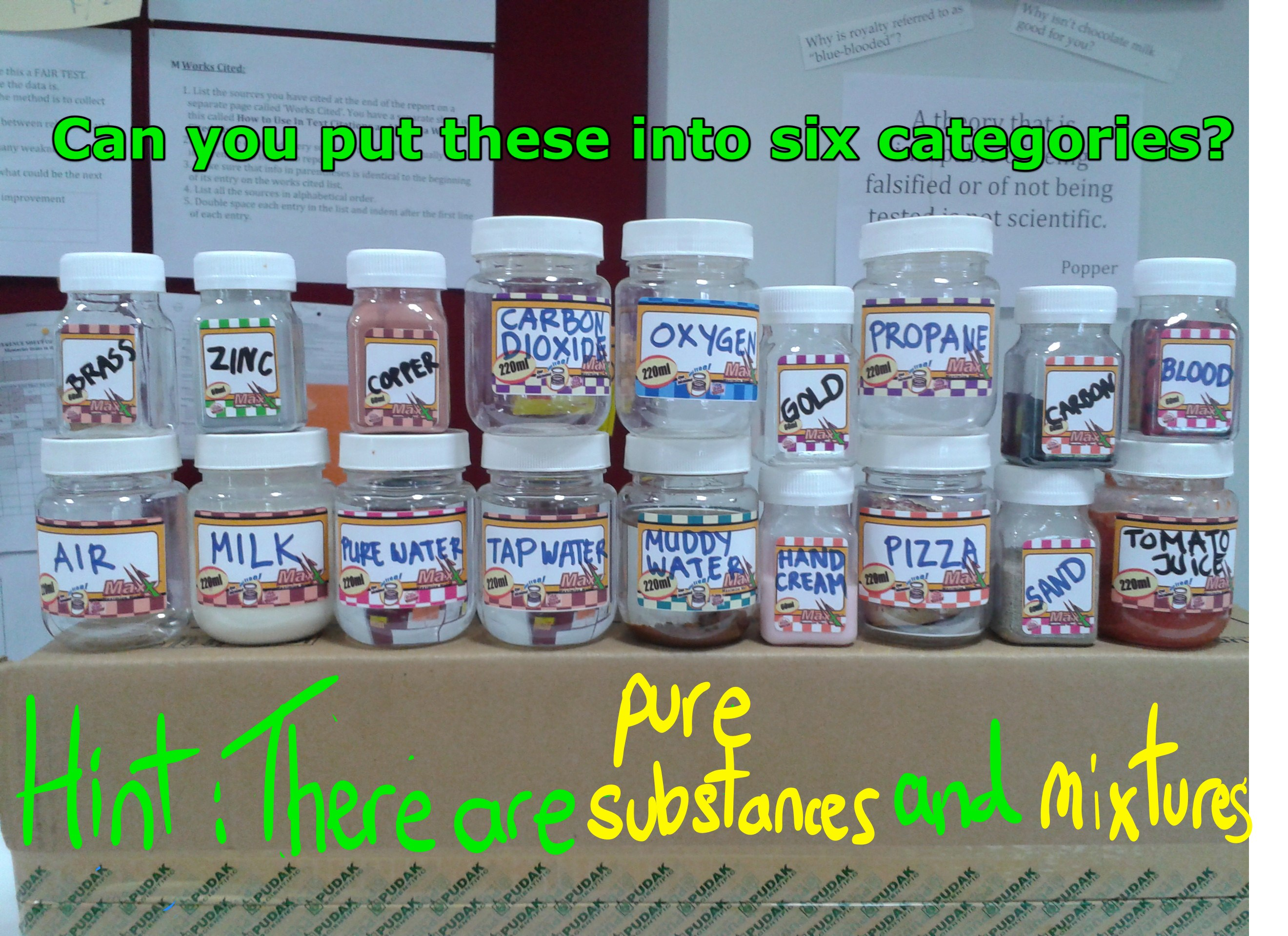 Unit 3 Mixtures And Pure Substances