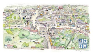 The Shaftesbury Map