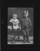 Charlie and Bill Milne