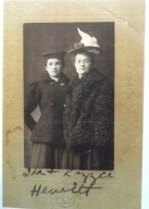 Lizzie Hewitt Hall and Ida Hewitt Milne
