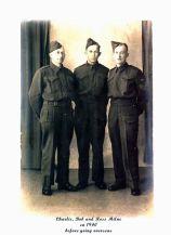 Charlie, Bob and Ross Milne