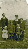 Rob and Ida Milne and Family
