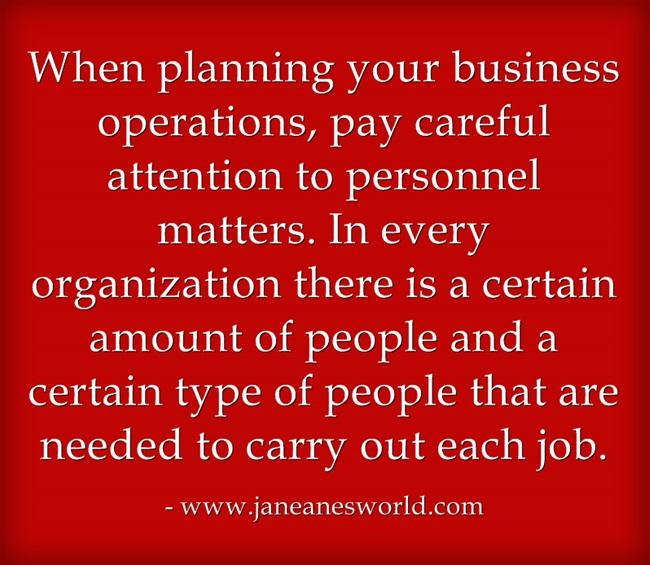 business plan part 2