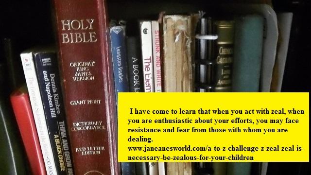 Photo Credit: Janeane Davis, Be Zealous on Behalf of Your Children