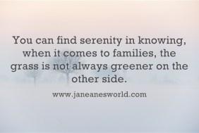 life is not always greener www.janeanesworld.com
