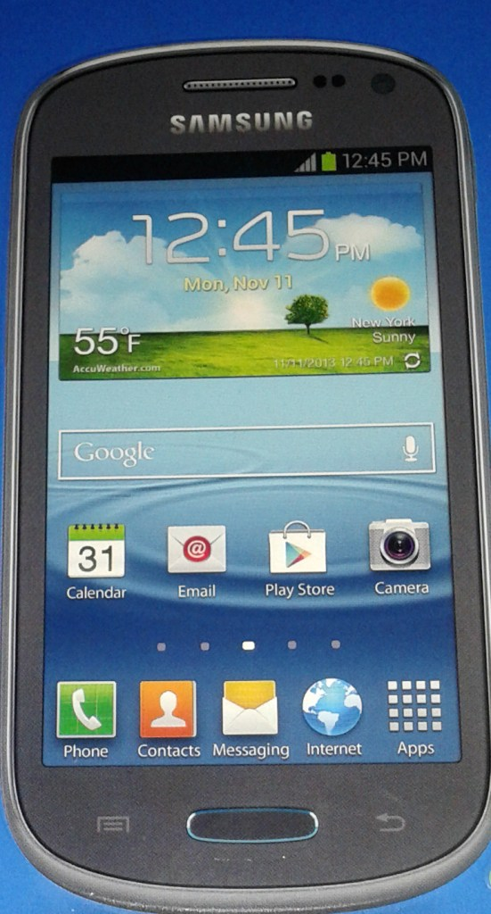 This is the Samsung Galaxy Exhibit with the 5mp camera and some great pre-loaded software. Walmart Family Mobile #shop