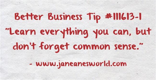 Better-Business-Tip