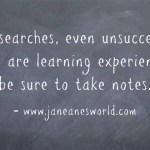 job search a chance to learn www.janeanesworld.com