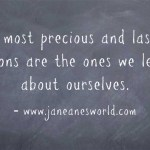 www.janeanesworld.com lessons learned in business