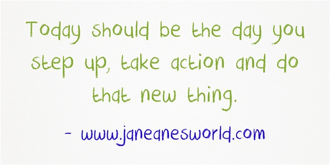 www.jananesworld.com take action now on something new