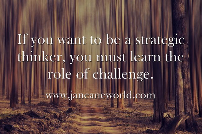 challenge strategic thinking a toz challenge www.janeanesworld.com
