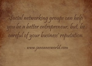 entrepreneur learn w social networking group www.janeanesworld.com
