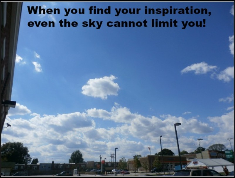 find inspiration and even the sky is no limit www.janeanesworld.com